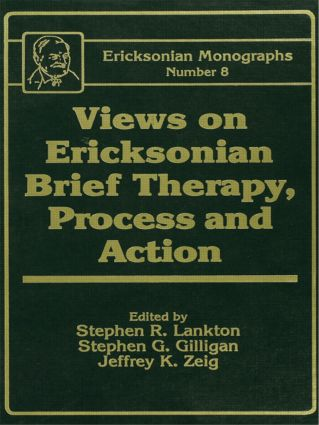 Views On Ericksonian Brief Therapy: 1st Edition (Paperback) book cover