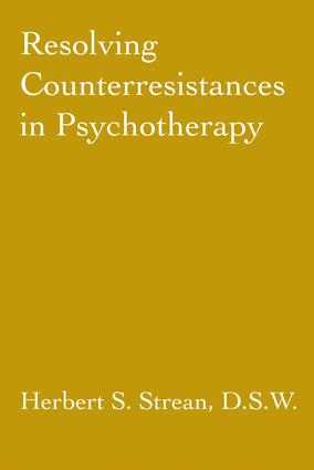 Resolving Counterresistances In Psychotherapy: 1st Edition (Paperback) book cover
