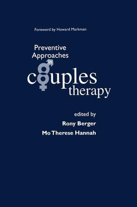 Preventive Approaches in Couples Therapy: 1st Edition (Paperback) book cover