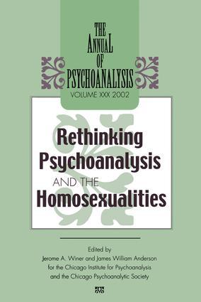 The Annual of Psychoanalysis, V. 30