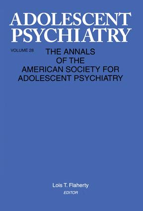 Adolescent Psychiatry, V. 28: Annals of the American Society for Adolescent Psychiatry, 1st Edition (Paperback) book cover
