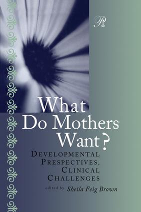 What Do Mothers Want?: Developmental Perspectives, Clinical Challenges book cover