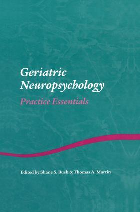 Geriatric Neuropsychology