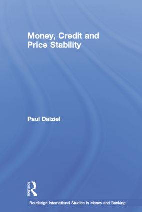 Money, Credit and Price Stability book cover