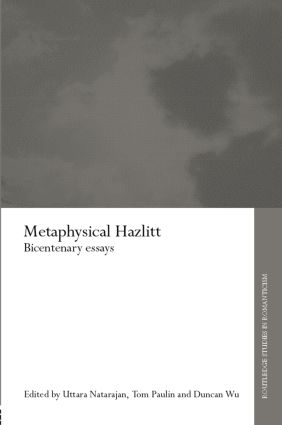Metaphysical Hazlitt