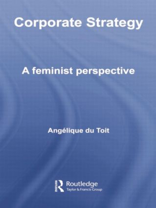 Corporate Strategy: A Feminist Perspective, 1st Edition (Paperback) book cover