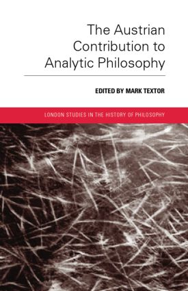 The Austrian Contribution to Analytic Philosophy: 1st Edition (Paperback) book cover