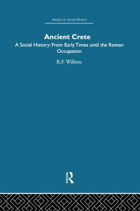 Ancient Crete: From Early Times Until the Roman Occupation, 1st Edition (Paperback) book cover