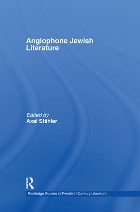 Anglophone Jewish Literature book cover