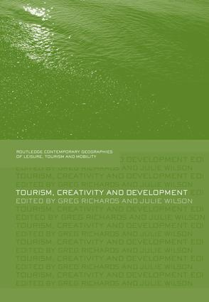 Tourism, Creativity and Development: 1st Edition (Paperback) book cover