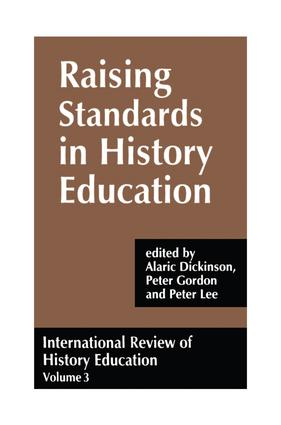 International Review of History Education: International Review of History Education, Volume 3 (Hardback) book cover