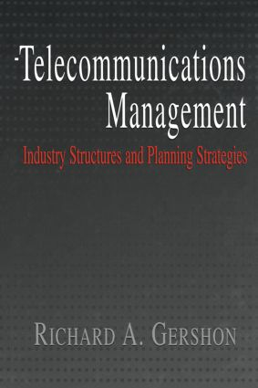 Telecommunications Management (Paperback) book cover