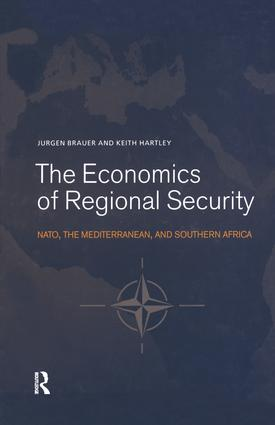 The Economics of Regional Security: NATO, the Mediterranean and Southern Africa book cover