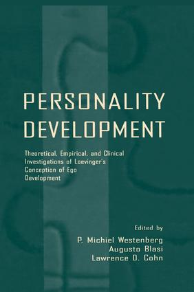 Personality Development: Theoretical, Empirical, and Clinical Investigations of Loevinger's Conception of Ego Development (Hardback) book cover