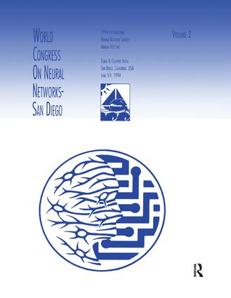 World Congress on Neural Networks: 1994 International Neural Network Society Annual Meeting, 1st Edition (Paperback) book cover