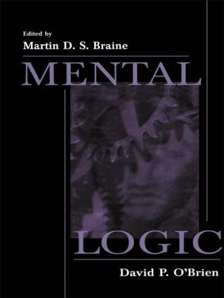 Mental Logic: 1st Edition (Paperback) book cover