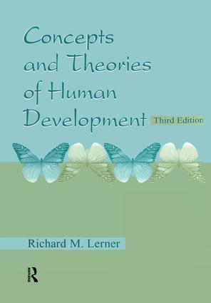 Concepts and Theories of Human Development: 3rd Edition (Paperback) book cover