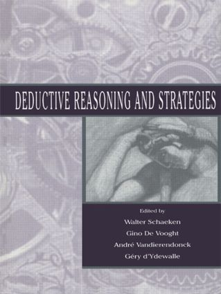 Deductive Reasoning and Strategies: 1st Edition (Paperback) book cover