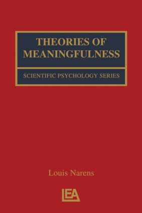 Theories of Meaningfulness