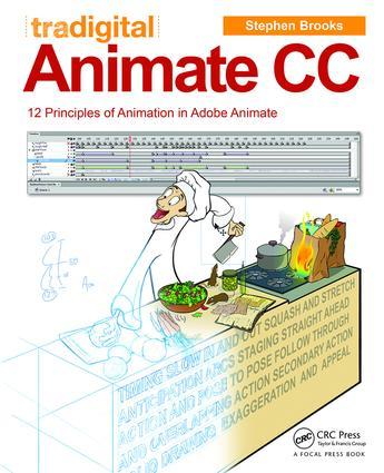 Tradigital Animate CC: 12 Principles of Animation in Adobe Animate book cover