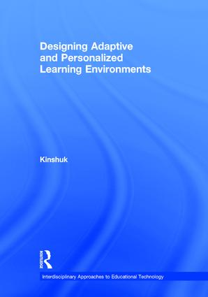 Designing Adaptive and Personalized Learning Environments (Hardback) book cover