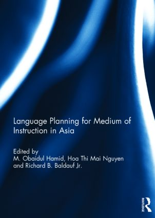 Language Planning for Medium of Instruction in Asia: 1st Edition (Hardback) book cover
