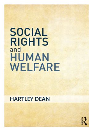 Social Rights and Human Welfare: 1st Edition (Paperback) book cover