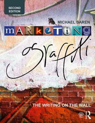 Marketing Graffiti: The Writing on the Wall book cover