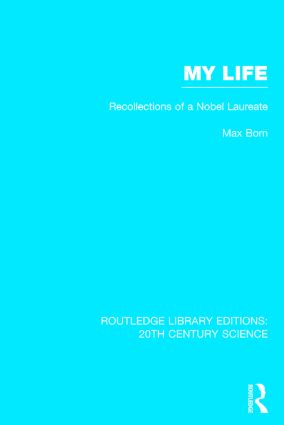 My Life: Recollections of a Nobel Laureate (Hardback) book cover