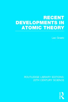 Recent Developments in Atomic Theory (Hardback) book cover