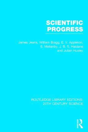 Scientific Progress (Hardback) book cover