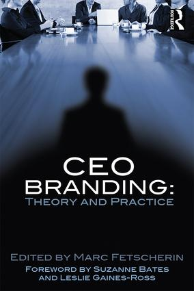 CEO Branding: Theory and Practice, 1st Edition (Paperback) book cover