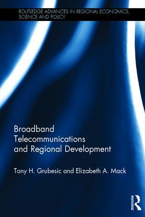 Broadband Telecommunications and Regional Development book cover