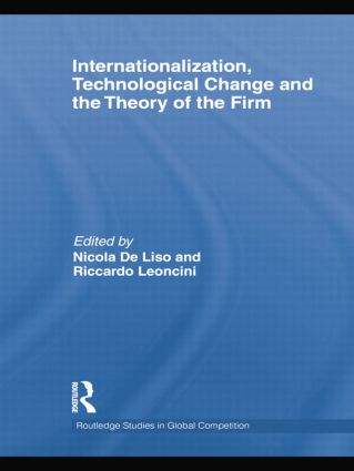 Internationalization, Technological Change and the Theory of the Firm: 1st Edition (Paperback) book cover