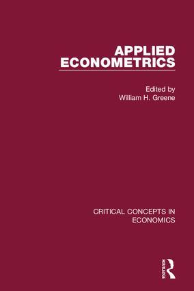 Applied Econometrics (Hardback) book cover