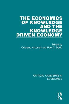 The Economics of Knowledge and.. book cover