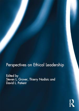 Perspectives on Ethical Leadership: 1st Edition (Hardback) book cover
