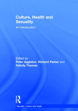 Culture, Health and Sexuality: An Introduction book cover