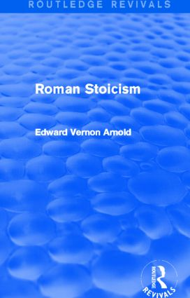 Roman Stoicism (Routledge Revivals): 1st Edition (Paperback) book cover