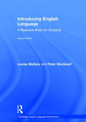 Introducing English Language: A Resource Book for Students, 2nd Edition (Hardback) book cover