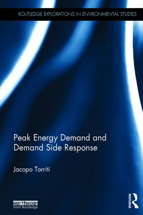 Peak Energy Demand and Demand Side Response: 1st Edition (Hardback) book cover