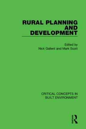 Rural Planning and Development book cover