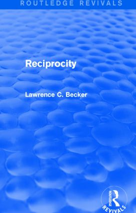 Reciprocity (Routledge Revivals)
