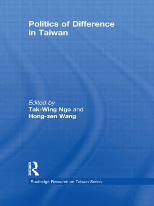 Politics of Difference in Taiwan (Hardback) book cover