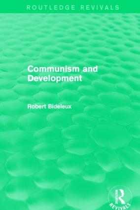 Communism and Development (Routledge Revivals)
