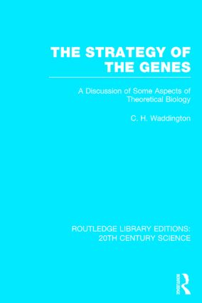 The Strategy of the Genes book cover