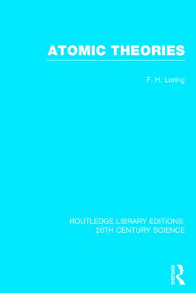 Atomic Theories (Hardback) book cover