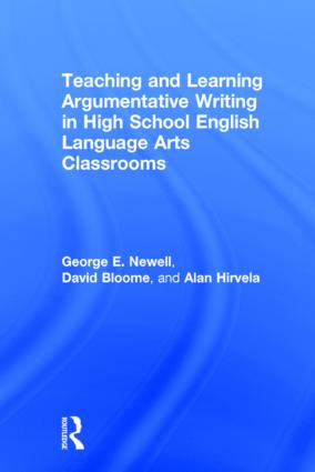 Teaching and Learning Argumentative Writing in High School English Language Arts Classrooms book cover