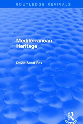 Mediterranean Heritage (Routledge Revivals): 1st Edition (Paperback) book cover