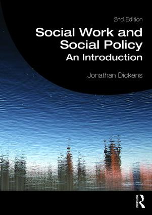 Social Work and Social Policy: An Introduction, 2nd Edition (Paperback) book cover